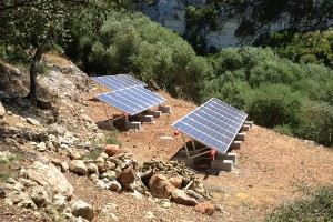 Solar Panel Electricity Installation, Menorca