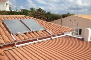 solar panels Menorca