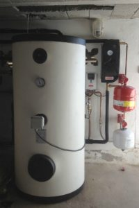 Solar heating water tank Menorca